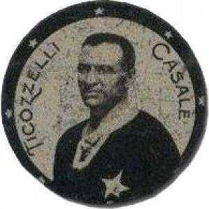 1926: la maglia nera di Giuseppe Ticozzelli, calciatore nella Nazionale e ciclista al Giro
