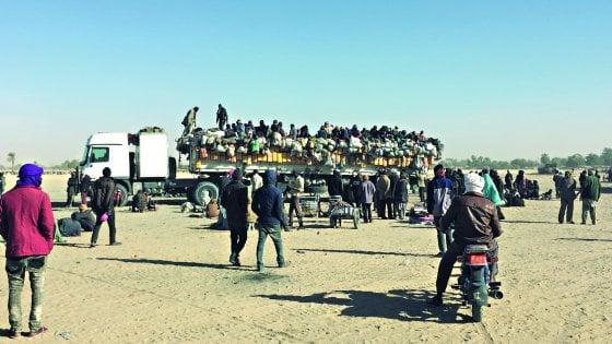 La rotta dei disperati  Fra i migranti del Niger che sognano