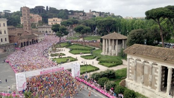 Roma, torna 'Race for the Cure': di corsa contro il tumore al seno