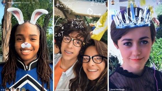 Instagram, tra down e novità: arrivano i filtri per la faccia