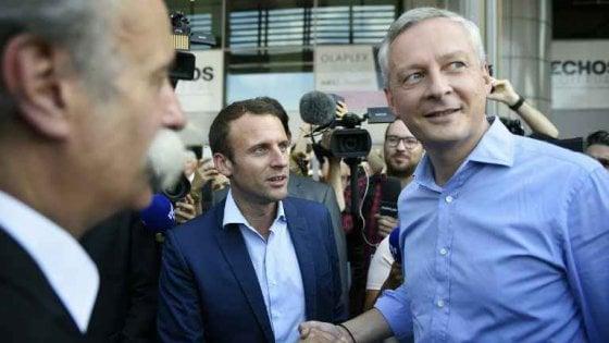 Francia, Macron presenta nuovo governo: agli Esteri Le Drian, all'Economia Le Maire