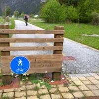 In bici sul tratto italiano della Ciclovia Alpe Adria