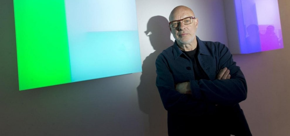 "Brian Eno, 'Light Music', la mostra immersiva nel castello: ""Musica e pittura sono connesse"""