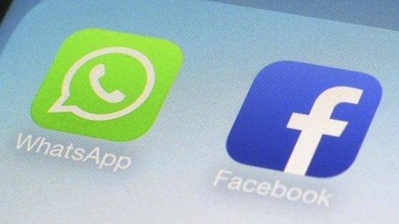 Maxi-multa Ue a Facebook per aver collegato gli account di Whatsapp: 110 milioni