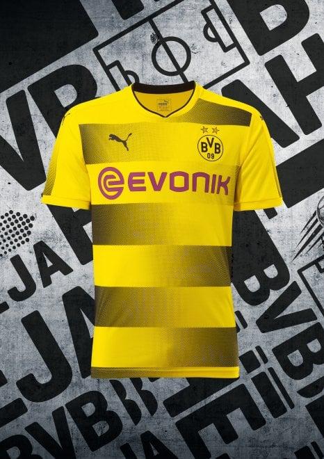 Germania, Puma svela la nuova maglia del Borussia Dormund