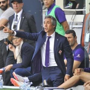 Fiorentina, Sousa: ''Napoli forte ma sappiamo come metterlo in difficoltà''