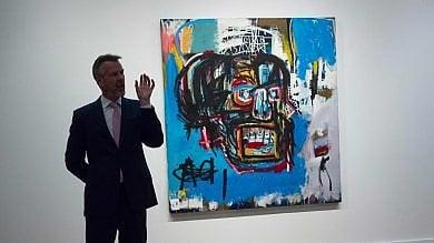 New York, il Basquiat del record: all'asta per 110,5 milioni di dollari