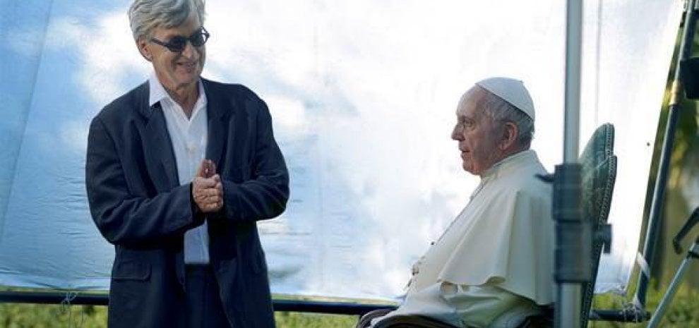 Wim Wenders e il documentario con Papa Francesco