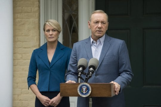 "Sul set di 'House of Cards 5': ""E' come Shakespeare, non servono i valori morali"""