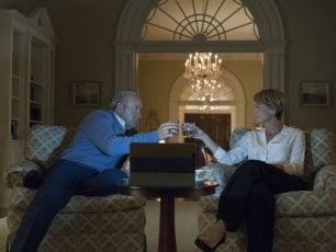 """Sul set di 'House of Cards 5': """"E' come Shakespeare, non servono i valori morali"""""""