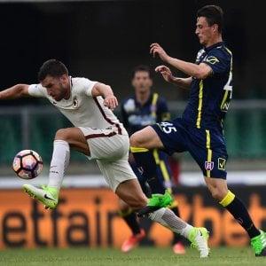 Le pagelle di Chievo-Roma: Bastien dinamico, Strootman utile