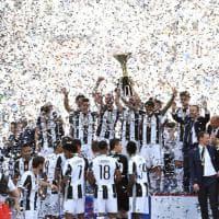 Juventus campione d'Italia, la festa bianconera in campo