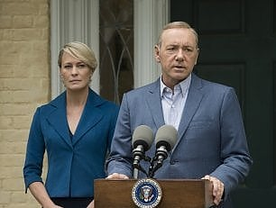 "Sul set di 'House of Cards 5': ""E' come Shakespeare"""