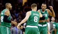 Finale Est, impresa Boston Cleveland si arrende in casa