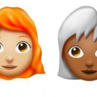 Emoji coi capelli bianchi, ricci, afro o senza: nuove capigliature per il