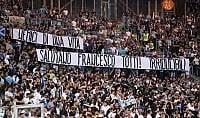 """Gli ultras della Lazio """"I tuoi nemici ti rispettano"""""""