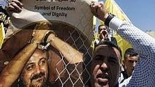 I reclusi palestinesi  sono al 36° giorno  di sciopero della fame