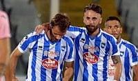 Pescara batte Palermo     ft     nella sfida tra retrocesse