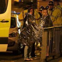 Gb, attentato Manchester Arena: il fotoracconto