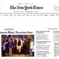 Gb, esplosione alla Manchester Arena: la notizia sui siti stranieri