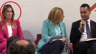 """Di Maio al convegno con Boschi:""""Le telecamere sono qui per me"""""""