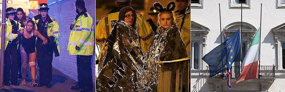 """Manchester, kamikaze al concerto: 22 morti, anche bambini.Ha 16 anni prima vittima identificata. May: """"Temo altro attacco"""""""