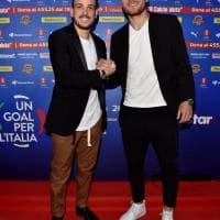 Campioni dello sport e dello spettacolo fanno 'Goal per l'Italia'