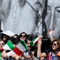 """Carla Del Ponte: """"Cene e cinema, solo qui a Lugano si sentiva libero"""""""