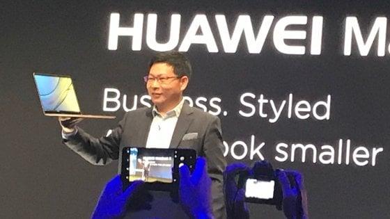 Non solo smartphone e tablet, Huawei svela il suo primo notebook