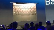 Huawei scopre i laptop e lancia il MateBook X   Foto  I nuovi notebook
