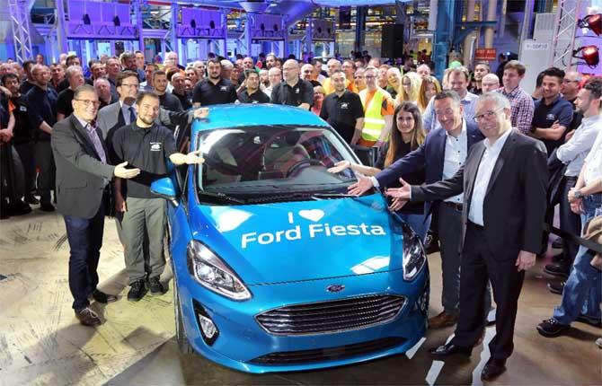 Nuova Ford Fiesta, il via alla produzione
