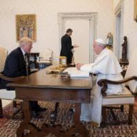 Papa Francesco e Trump: mezz'ora di colloquio su pace e disuguaglianze sociali