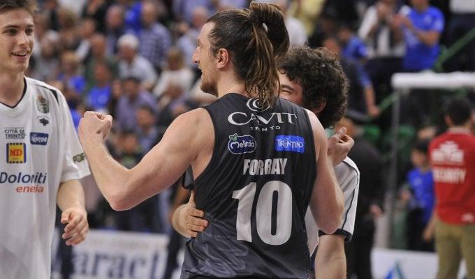 Basket, la voglia matta di Trento; Forray: ''Milano, occhio alla nostra fame''
