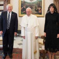 Trump a Roma vede il Papa: