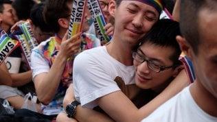Taiwan dice sì ai matrimoni gay: prima volta di un paese asiatico