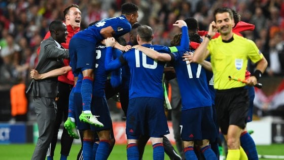 Europa League, Manchester United-Ajax 2-0: il trionfo di Mourinho