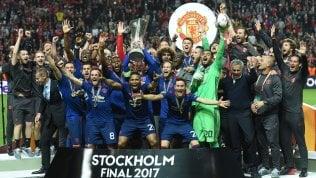 Europa League, vince Mourinho:coppa allo United, Ajax ko 2-0