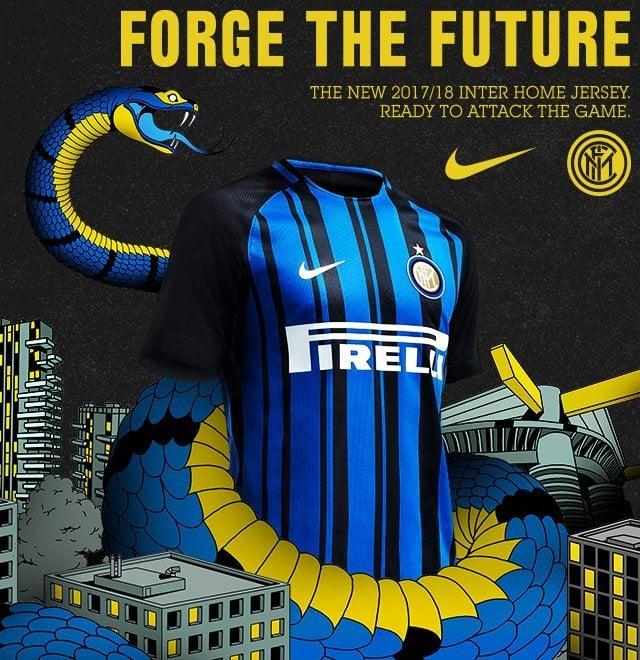 Inter, la nuova maglia si ispira allo Skyline di Milano