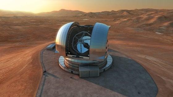 """Cile, al via la costruzione dell'E-Elt: ''Sarà il telescopio più grande (e preciso) del mondo"""""""