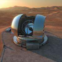Cile, al via la costruzione dell'E-Elt: ''Sarà il telescopio più grande
