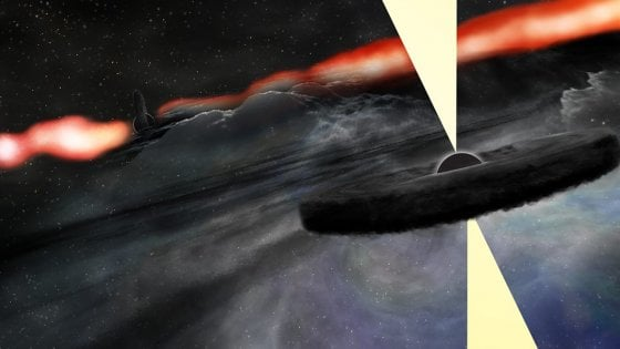 """Il misterioso """"inquilino"""" della galassia Cygnus A"""