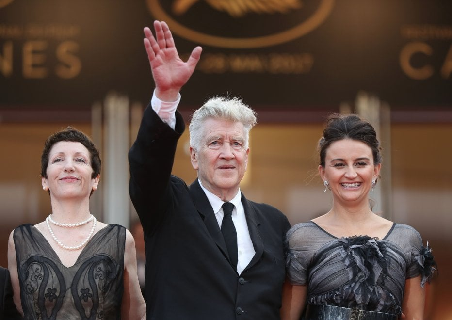 Cannes, David Lynch e 'Twin peaks', il red carpet con Kyle MacLachlan