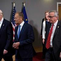 """Trump: """"Tedeschi cattivi"""", primo giallo diplomatico di un vertice difficile"""