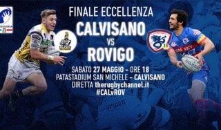 Rugby, Calvisano-Rovigo: la finale scudetto in diretta streaming su Repubblica.it