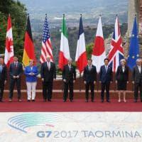G7, il Teatro greco immortala i Grandi: al via il vertice di Taormina