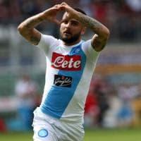 Napoli, Insigne celebra Totti: