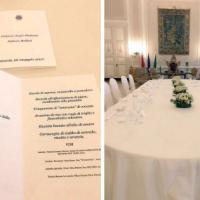 Pino Cuttaia cucina per first lady e first gentlemen del G7
