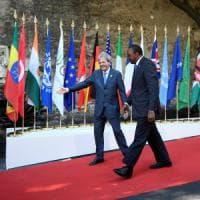 G7, al via il secondo giorno del vertice, allargato ai Paesi africani