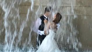 Il bagno degli sposi novellinel  Fontanone del Gianicolo,l'ultima offesa ai tesori di Roma