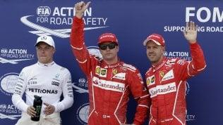 Gran Premio di Montecarlo, la Ferrari di Raikkonen conquista la pole davanti a Vettel